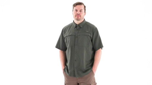 Guide Gear Men's Traverse Short Sleeve Shirt 360 View - image 10 from the video