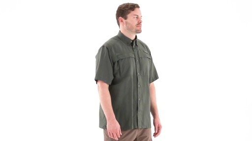 Guide Gear Men's Traverse Short Sleeve Shirt 360 View - image 2 from the video