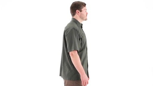 Guide Gear Men's Traverse Short Sleeve Shirt 360 View - image 3 from the video