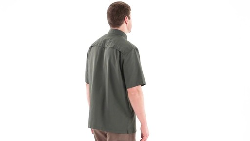 Guide Gear Men's Traverse Short Sleeve Shirt 360 View - image 4 from the video