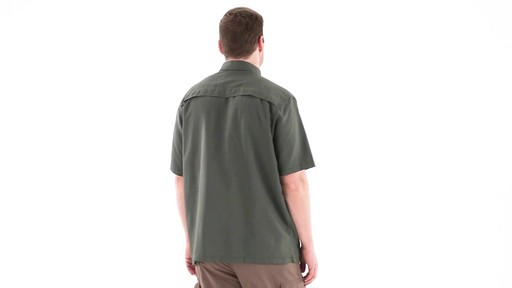 Guide Gear Men's Traverse Short Sleeve Shirt 360 View - image 5 from the video