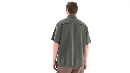 Guide Gear Men's Traverse Short Sleeve Shirt 360 View - image 6 from the video