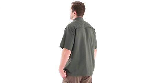 Guide Gear Men's Traverse Short Sleeve Shirt 360 View - image 7 from the video