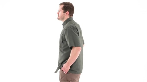 Guide Gear Men's Traverse Short Sleeve Shirt 360 View - image 8 from the video