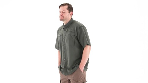 Guide Gear Men's Traverse Short Sleeve Shirt 360 View - image 9 from the video