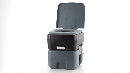 Reliance Flush-N-Go 1020T Portable Toilet 360 View - image 7 from the video