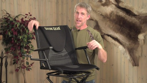 Guide Gear Comfort Swivel Blind Chair - image 1 from the video