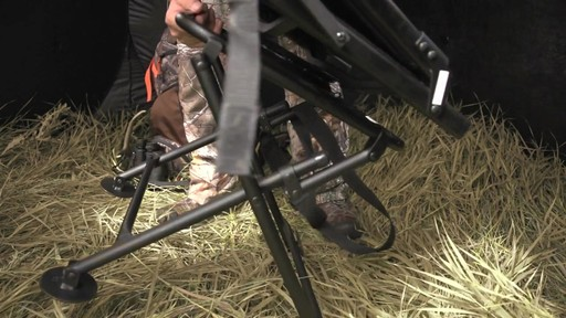 Guide Gear Comfort Swivel Blind Chair - image 5 from the video