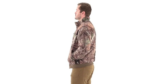 Guide Gear Steadfast 4-in-1 Hunting Parka 150 Gram Thinsulate Platinum with X-Static Waterproof 360 View - image 10 from the video