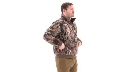 Guide Gear Steadfast 4-in-1 Hunting Parka 150 Gram Thinsulate Platinum with X-Static Waterproof 360 View - image 8 from the video
