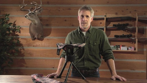 Guide Gear Swivel Tripod Hunting Stool - image 1 from the video