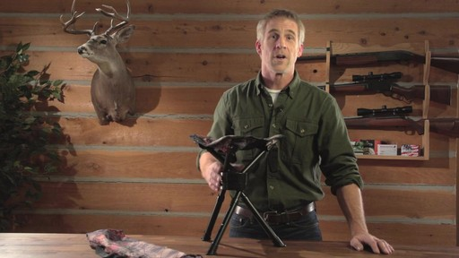 Guide Gear Swivel Tripod Hunting Stool - image 10 from the video
