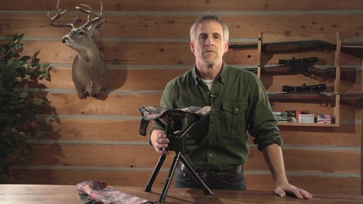Guide Gear Swivel Tripod Hunting Stool - image 2 from the video
