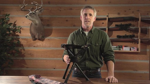 Guide Gear Swivel Tripod Hunting Stool - image 6 from the video
