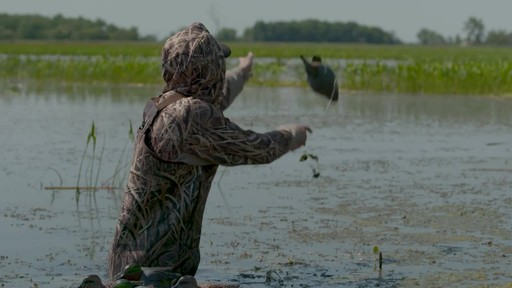 Avian-X Top Flight Teal Early Season Duck Decoys 6 Pack - image 4 from the video