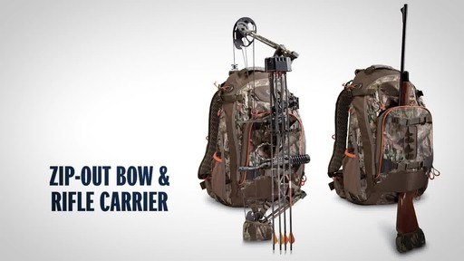 Bolderton 2200 Hunting Pack, Mossy Oak Break Up Country - image 4 from the video