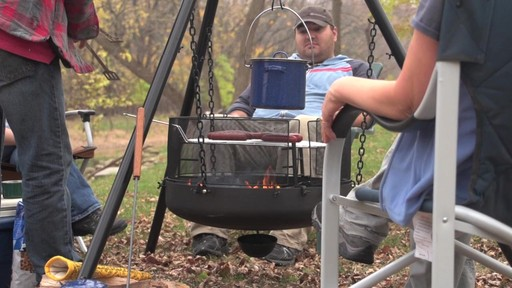 Guide Gear XL Heavy-duty Campfire Tripod System - image 8 from the video