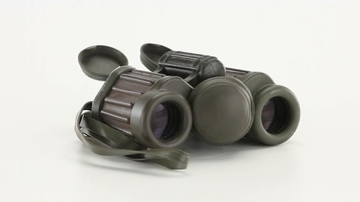 Used Hensoldt / Zeiss 8x30 German Army Binoculars 360 View - image 1 from the video