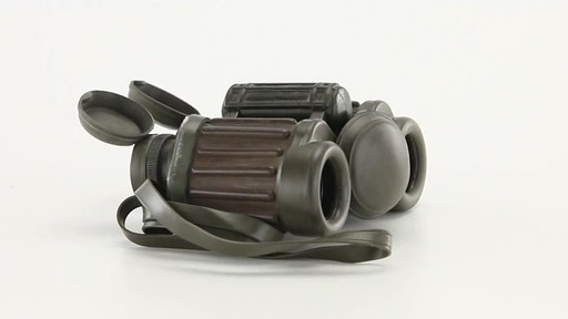 Used Hensoldt / Zeiss 8x30 German Army Binoculars 360 View - image 2 from the video