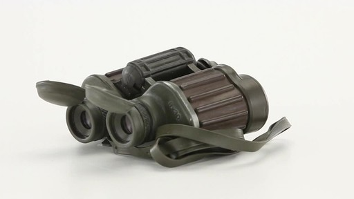 Used Hensoldt / Zeiss 8x30 German Army Binoculars 360 View - image 4 from the video