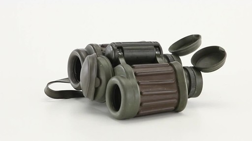 Used Hensoldt / Zeiss 8x30 German Army Binoculars 360 View - image 9 from the video