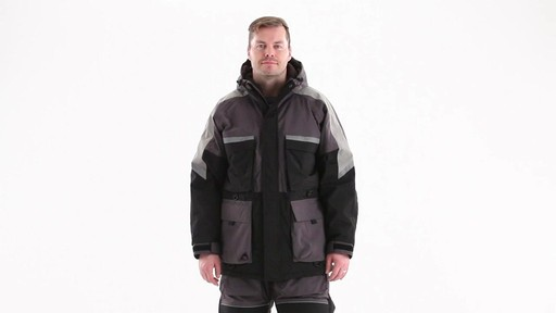 Guide Gear Men's Waterproof Ice Parka 360 View - image 1 from the video