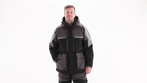 Guide Gear Men's Waterproof Ice Parka 360 View - image 10 from the video