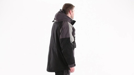 Guide Gear Men's Waterproof Ice Parka 360 View - image 4 from the video