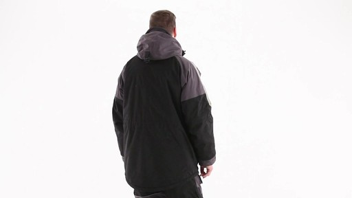 Guide Gear Men's Waterproof Ice Parka 360 View - image 5 from the video