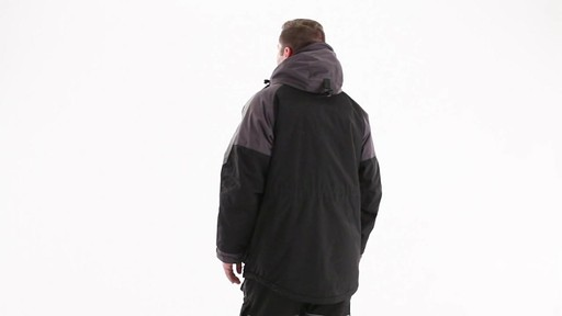 Guide Gear Men's Waterproof Ice Parka 360 View - image 6 from the video