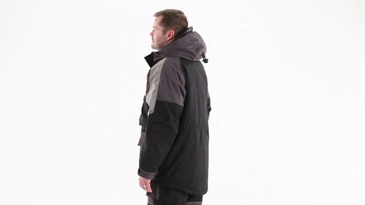 Guide Gear Men's Waterproof Ice Parka 360 View - image 7 from the video