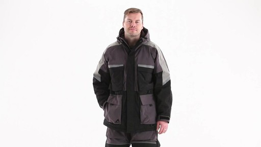 Guide Gear Men's Waterproof Ice Parka 360 View - image 9 from the video