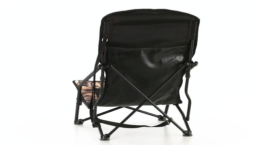 HuntRite Long Beard Lounger Seat 300 lb. Capacity 360 View - image 4 from the video