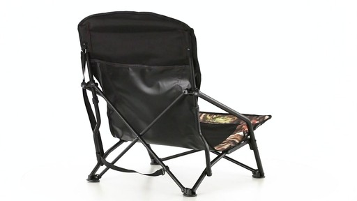 HuntRite Long Beard Lounger Seat 300 lb. Capacity 360 View - image 5 from the video