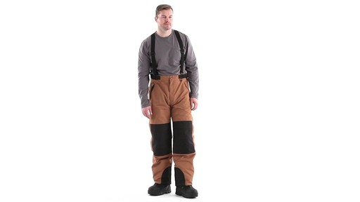 Guide Gear Men's Waterproof Suspender Snow Pants 360 View - image 1 from the video