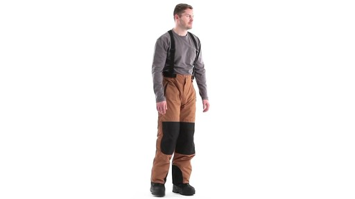Guide Gear Men's Waterproof Suspender Snow Pants 360 View - image 2 from the video