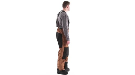 Guide Gear Men's Waterproof Suspender Snow Pants 360 View - image 3 from the video