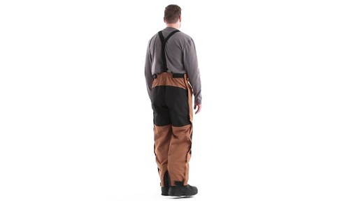 Guide Gear Men's Waterproof Suspender Snow Pants 360 View - image 4 from the video