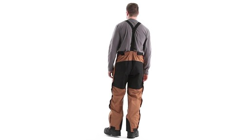 Guide Gear Men's Waterproof Suspender Snow Pants 360 View - image 5 from the video