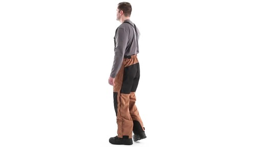 Guide Gear Men's Waterproof Suspender Snow Pants 360 View - image 6 from the video