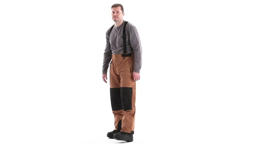 Guide Gear Men's Waterproof Suspender Snow Pants 360 View - image 7 from the video