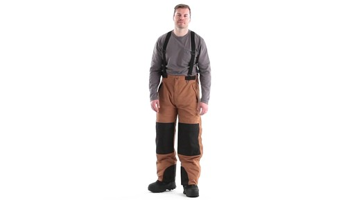 Guide Gear Men's Waterproof Suspender Snow Pants 360 View - image 8 from the video