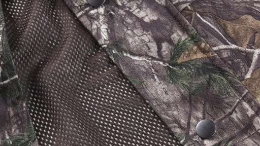 Guide Gear Men's Camo Rain Jacket 360 View - image 10 from the video