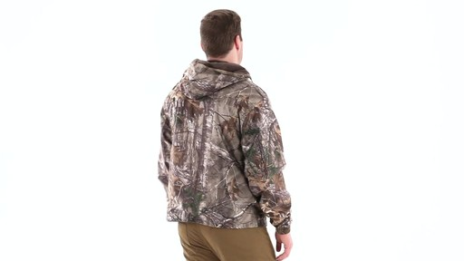 Guide Gear Men's Camo Rain Jacket 360 View - image 3 from the video