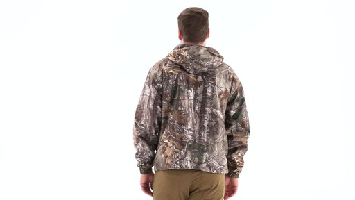 Guide Gear Men's Camo Rain Jacket 360 View - image 4 from the video