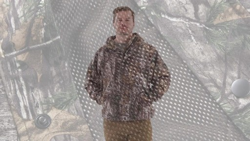 Guide Gear Men's Camo Rain Jacket 360 View - image 8 from the video