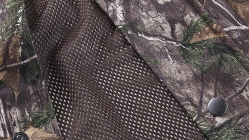 Guide Gear Men's Camo Rain Jacket 360 View - image 9 from the video