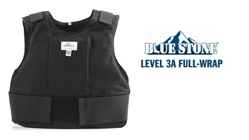 Blue Stone Level 3A Professional Full-Wrap Bullet Protection Vest - image 1 from the video