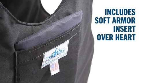 Blue Stone Level 3A Professional Full-Wrap Bullet Protection Vest - image 8 from the video
