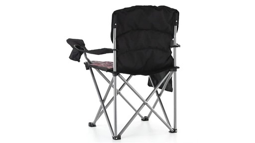 Guide Gear Mossy Oak Break-Up COUNTRY Oversized King Chair 500-lb.Capacity 360 View - image 10 from the video